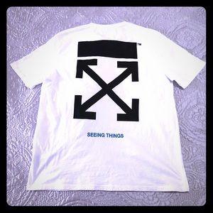 💯OFF-WHITE T-shirt XL
